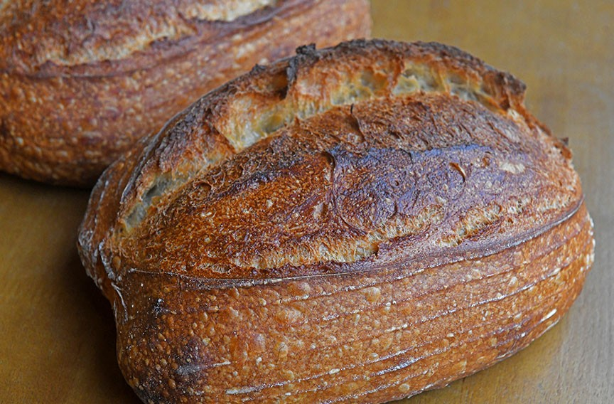 A sourdough product at Idle Hands Bread Co. - SCOTT ELMQUIST