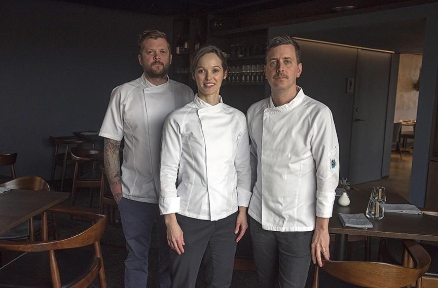 Longoven ownersAndrew Manning, Megan Fitzroy Phelan and Patrick Phelan. - SCOTT ELMQUIST/FILE