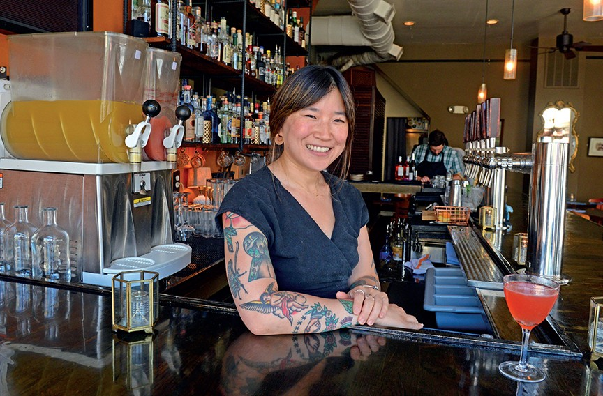 Saison bartender Sophia Kim took top prize in Woodford Reserve's Manhattan Experience - SCOTT ELMQUIST/FILE