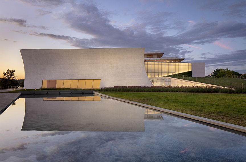 The new Kennedy Center's Reach in Washington. - RICHARD BARNES