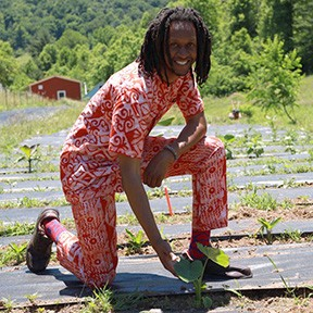 """Orange County farmer Michael Carter Jr. believes that in another 40 years, """"Black farmers will be extinct."""" - CARTER FAMILY FARMS"""