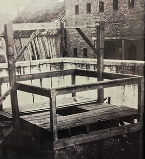 Staunton and Augusta County gallows, pre-1908.