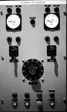 Electric chair control panel, 1984. - LIBRARY OF VIRGINIA