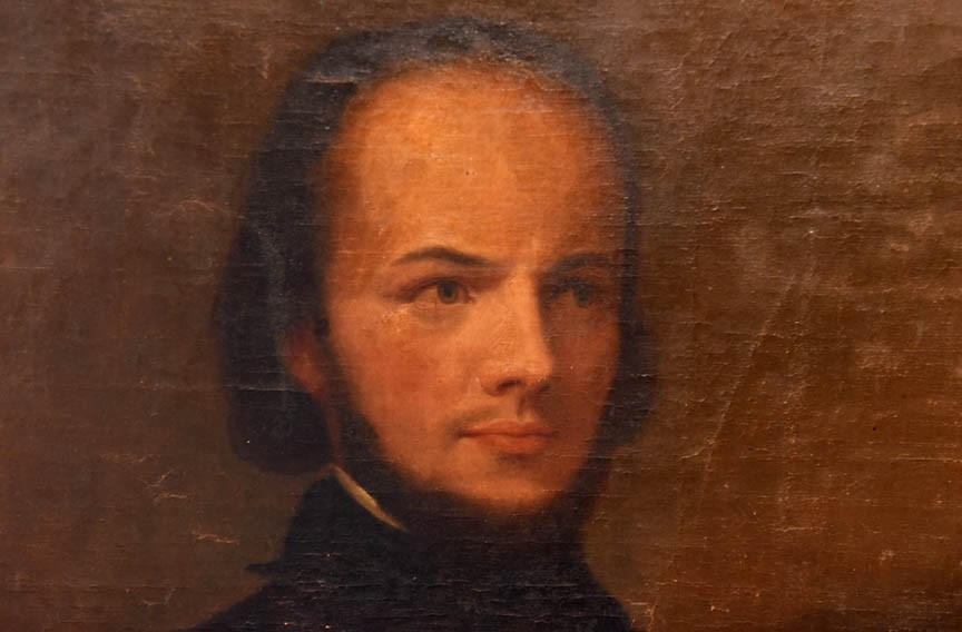 The Poe Museum says it exceeded its fundraising goal to purchase and preserve an oil painting of Rufus Griswold, opposite, and secure other artifacts for its collection.