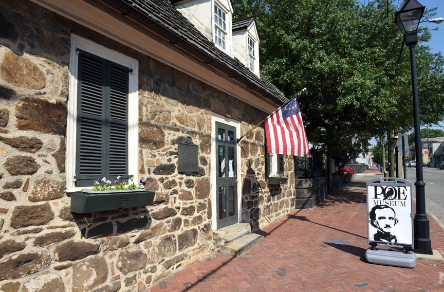 "The Poe Museum, at 1914-16 E. Main St., says the Rufus Griswold artifacts ""address the origins of many misconceptions about Poe."" - SCOTT ELMQUIST"