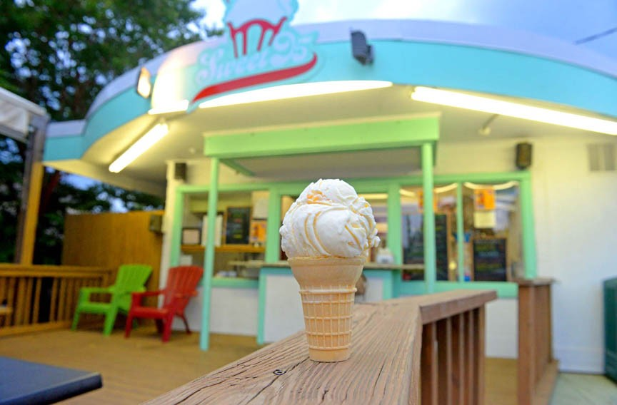 DAY 31: It's National Ice Cream day across town, including Sweet 95. - SCOTT ELMQUIST