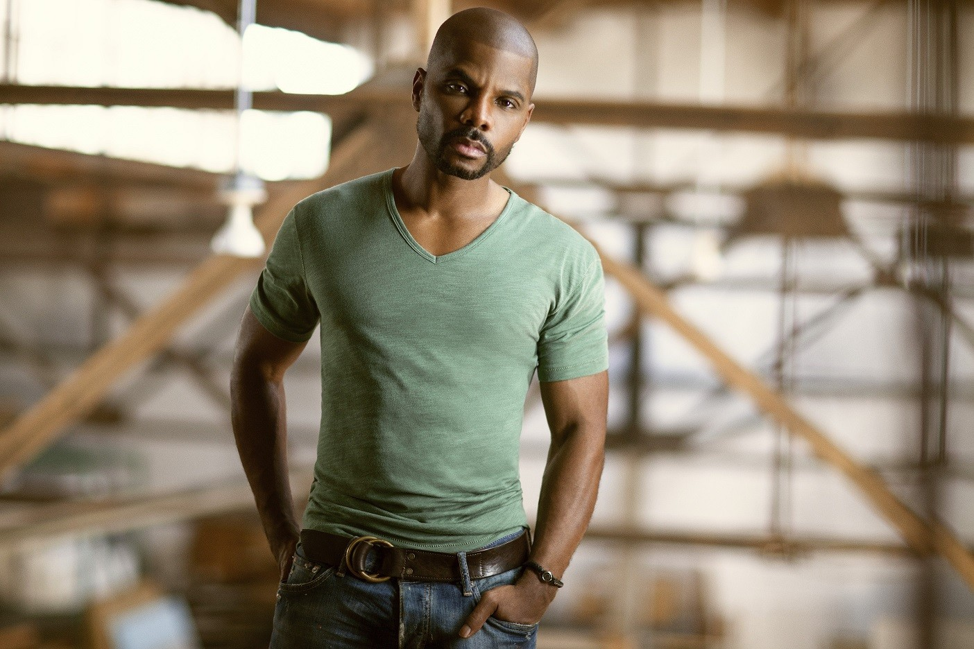 Gospel sensation Kirk Franklin.