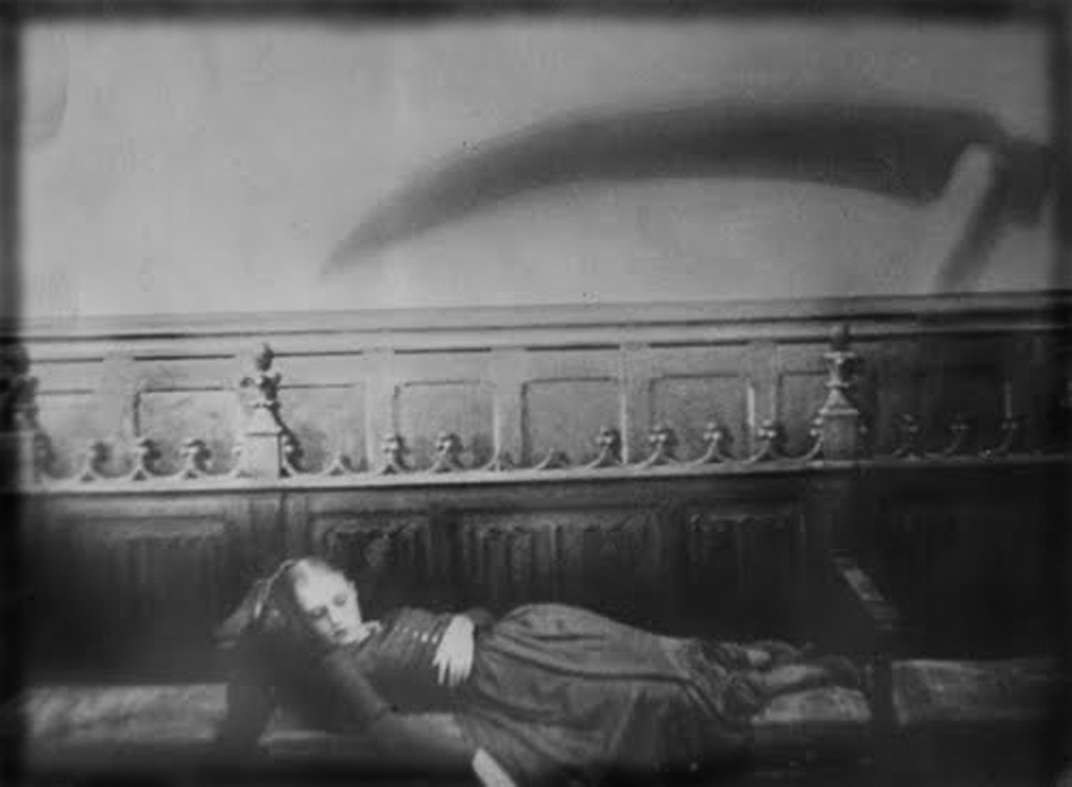 "A still from the 1932 film, ""Vampyr"" by Carl Theodor Dreyer."