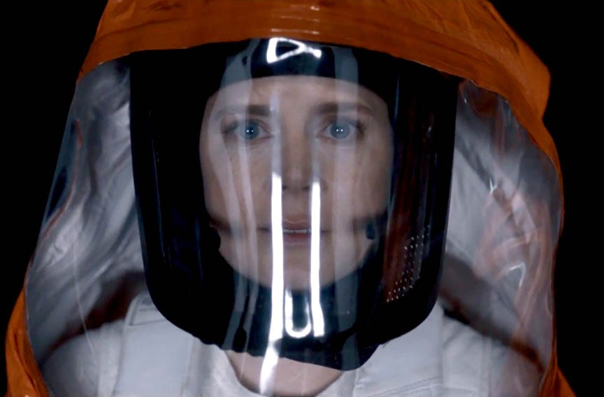 "Amy Adams in the sci-fi dud, ""Arrival."""
