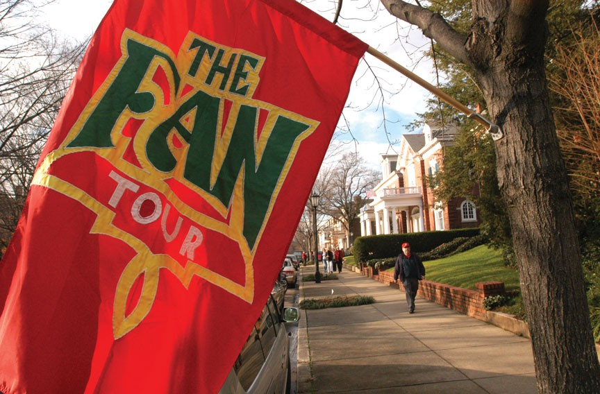 The 2016 Fan Holiday House Tour, Dec. 10.