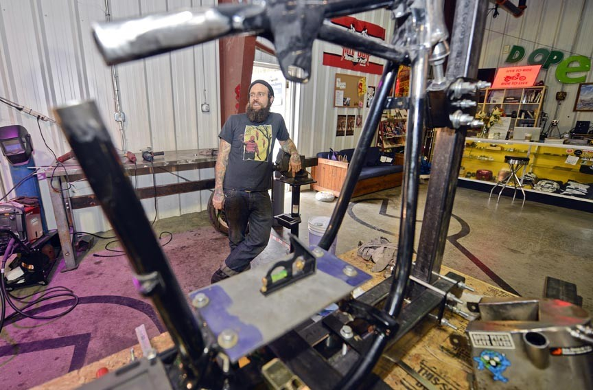 Richmond 39 S Engine And Frame Motorcycle Repair Shop Becomes