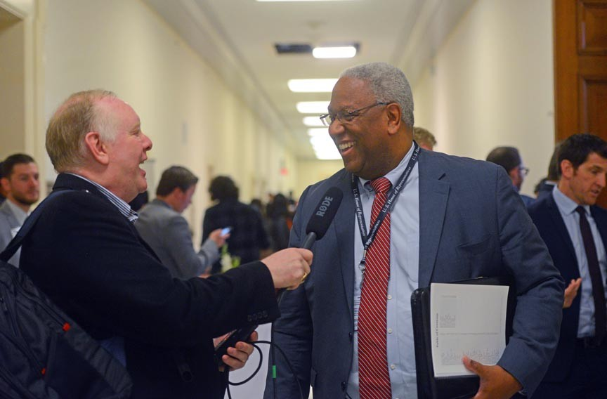 Donald McEachin comes to Congress representing a Democratic Party that's in the minority in both houses, and during a Republican administration. - SCOTT ELMQUIST