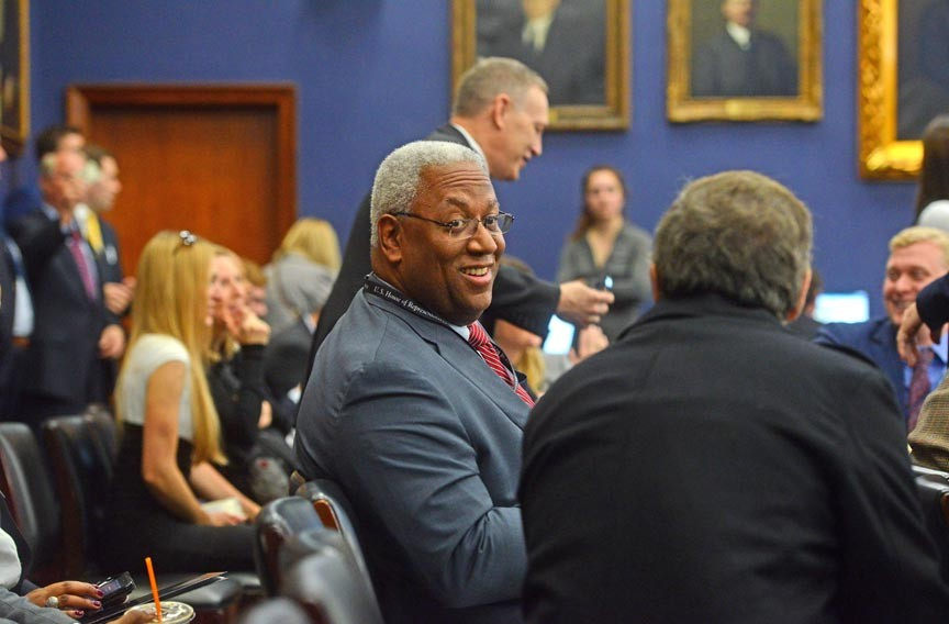 McEachin attended a two-week orientation in Washington for new members of Congress. - SCOTT ELMQUIST