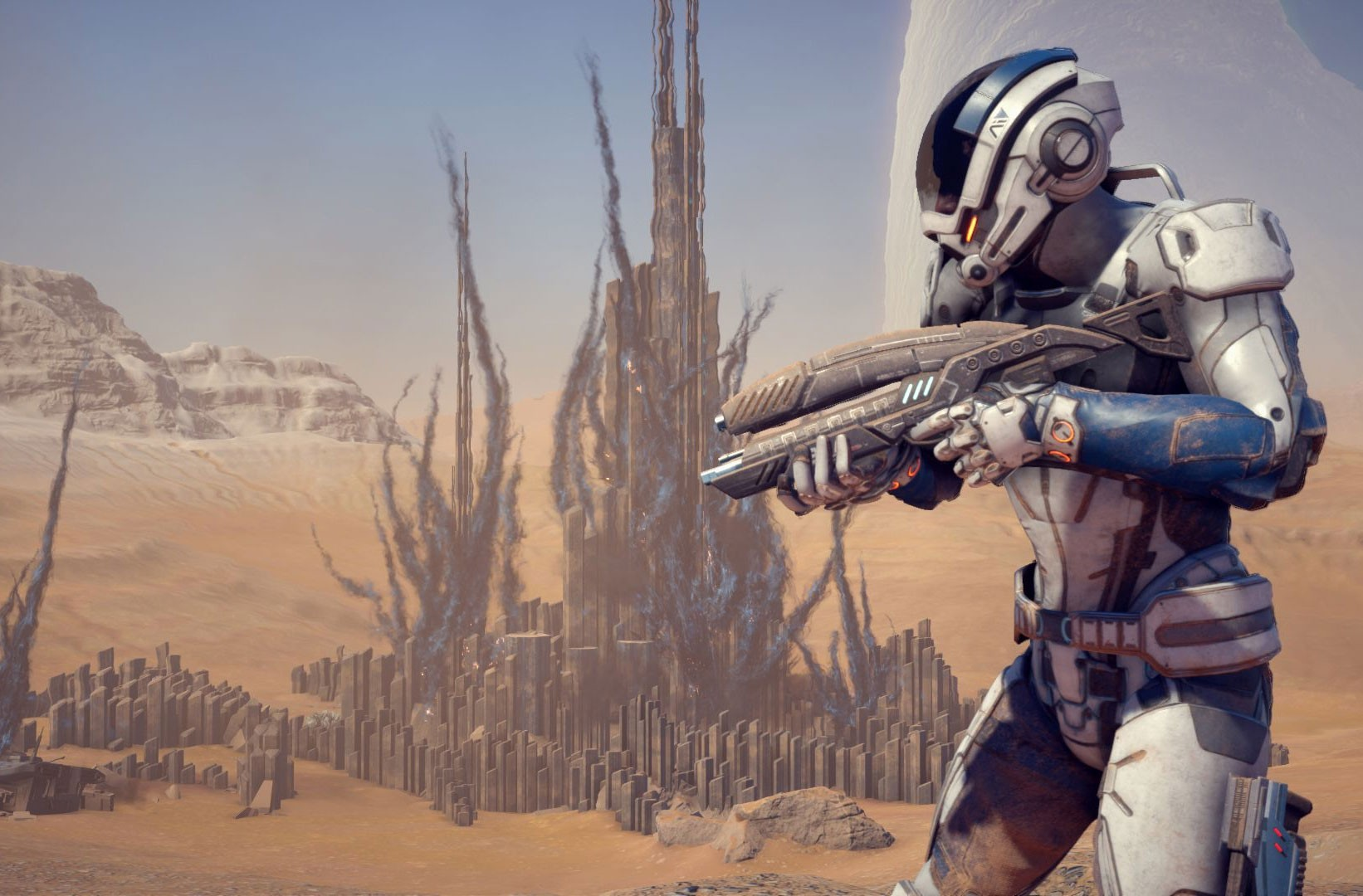 After fan outcry from a disappointing ending to the original Mass Effect Trilogy, many are hoping for a fresh start with Andromeda. - BIOWARE