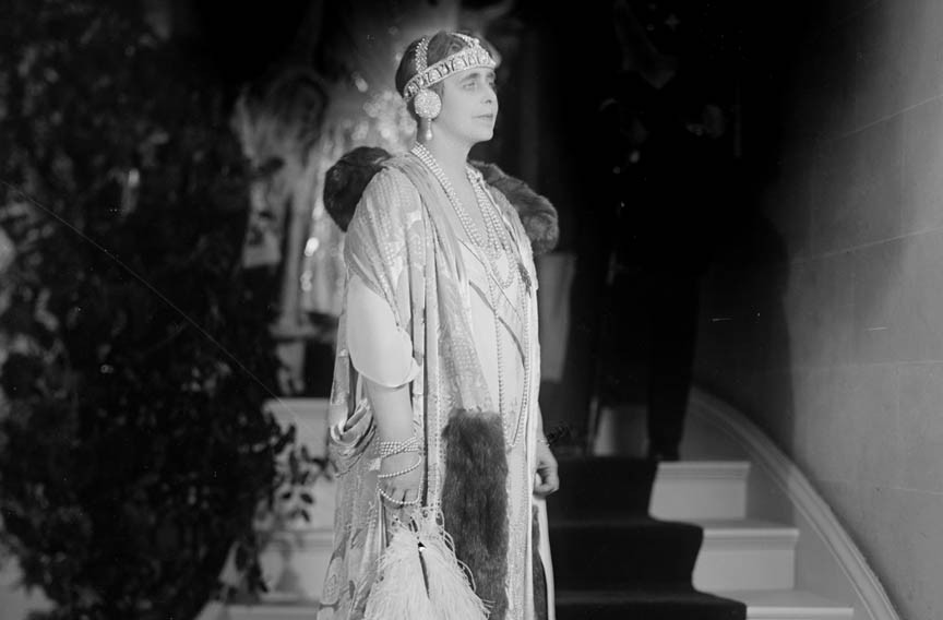 Queen Marie of Romania was admired for her style and beloved for her compassionate work during and after World War I. - LIBRARY OF CONGRESS