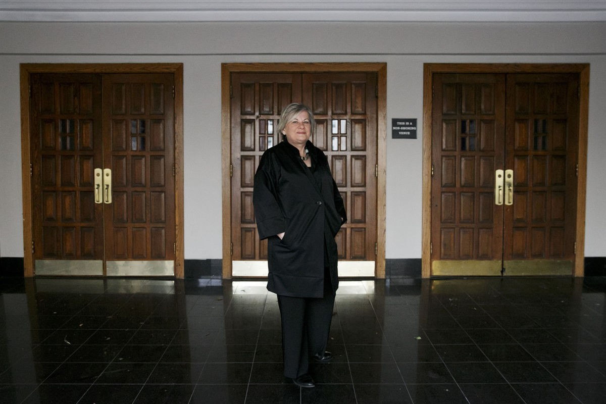 Cindy Cutler of Decriminalize Norfolk spent Jan. 30 lobbying in Richmond for the reform of marijuana laws. - KRISTEN ZEIS