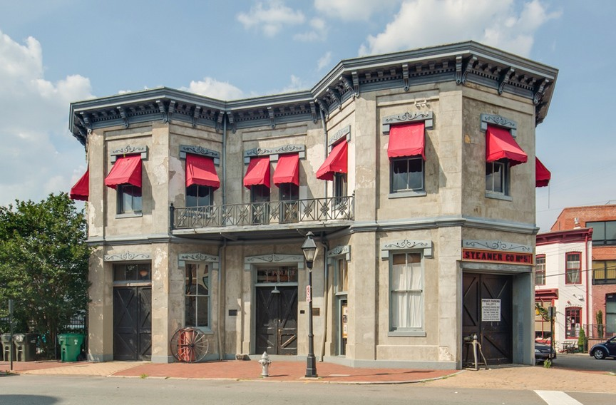 One of the city's best spots for community art, Gallery5 is located at 200 W. Marshall St.