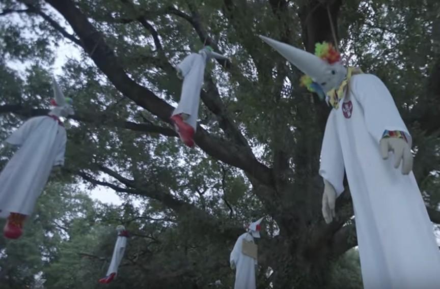 Video: Activist Group Hangs KKK Clowns in Bryan Park | Studio Blog