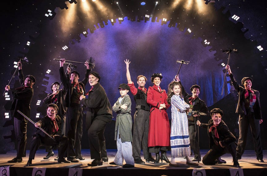"Virginia Repertory's ""Mary Poppins"" is Theatrical Magic at"