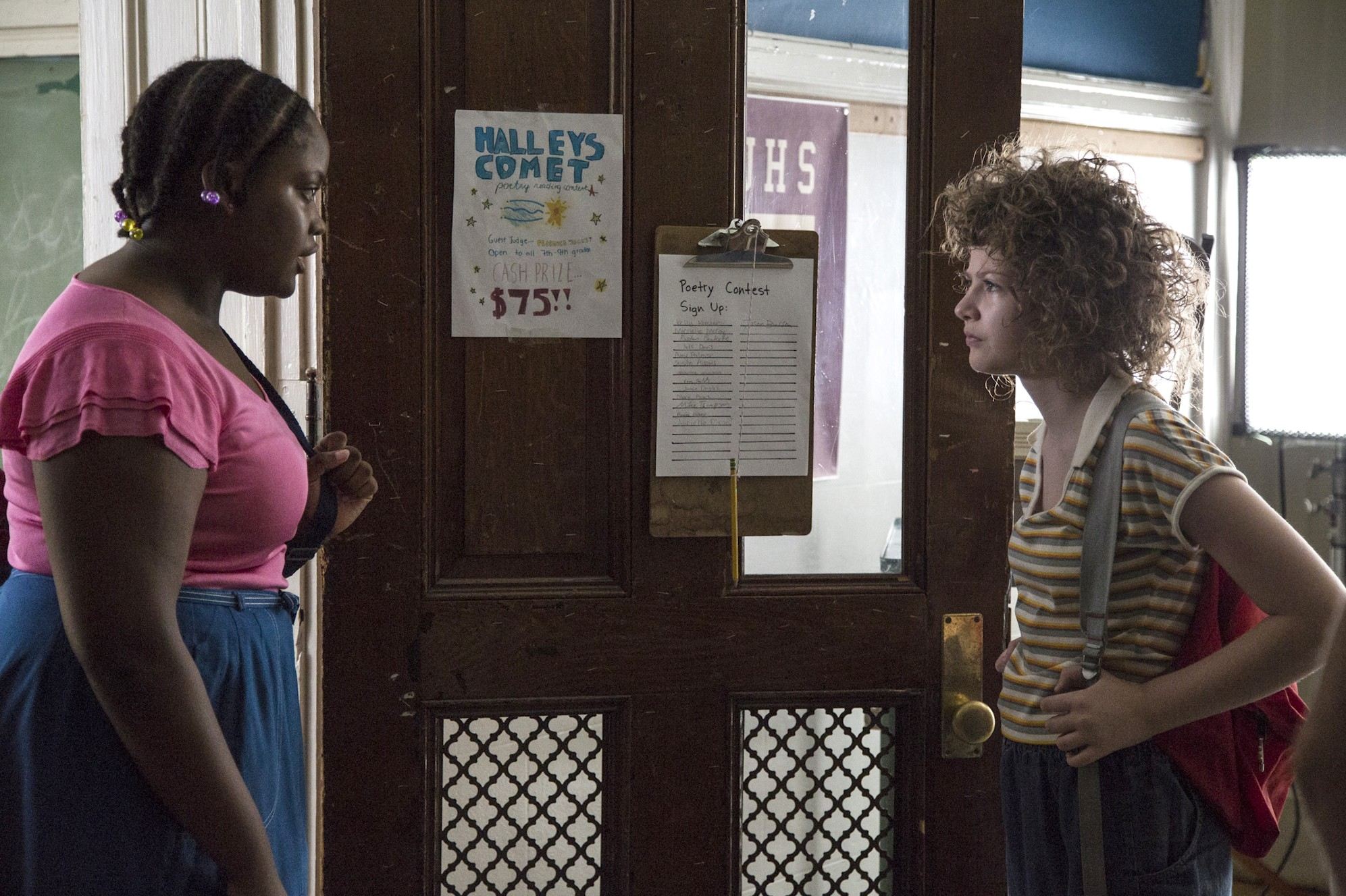 """(Left) Richmond actress Nena Daniels, playing here opposite of the film's star, Kira McLean, is one of the bright spots of the coming-of-age comedy, """"Permanent."""""""