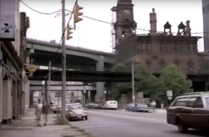 "Main Street Station appeared roofless in ""Finnegan, Begin Again."""