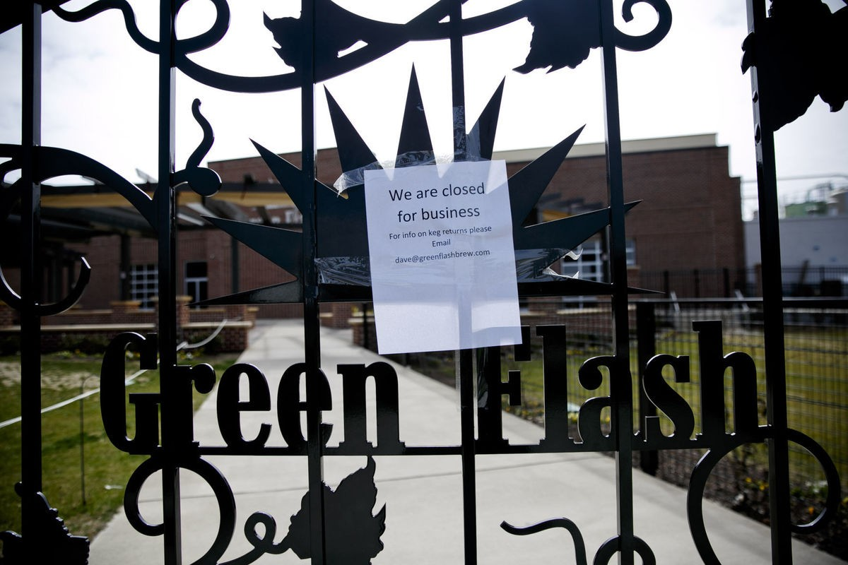 Green Flash Closes Virginia Beach Brewery Will Stop Distributing To East Coast Short Order Blog