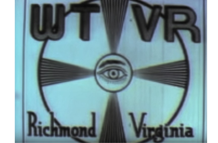 Original WTVR test pattern.