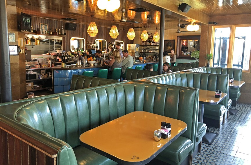 Most charming new restaurant interior food and drink