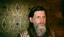 Dylan Carlson of Earth, Dorthia Cottrell and Eric Benson at Capital Ale House
