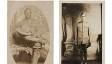 See an evocative collection of photographs depicting Virginia-born African-American World War I veterans before it leaves the Library of Virginia
