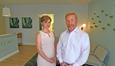 Dr. J. Randy Frederick and Rachel Featherstone