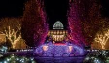 Gardenfest of Lights Opening Weekend at Lewis Ginter Botanical Garden
