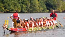 Event Pick:The Richmond International Dragon Boat Festival at Rocketts Landing.