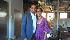Anything But Normal: Why VCU's Sonya Clark and Darryl Harper May Be Richmond's Premier Art Couple