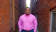 Sean G. Monroe Sr., 39: Director of Programs at HomeAgain and Football Coach at Hotchkiss Community Center