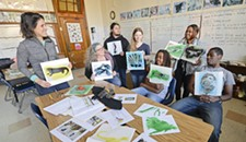 The Green Team: A Richmond After-School Program is Turning Tree Huggers Into Artists