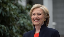Hillary Clinton Gets a Warm Fuzzy in Virginia House; Trump Doesn't