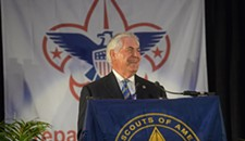 Exxon CEO Praises Values of Scouting in Richmond