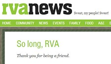 RVANews Is Shutting Down
