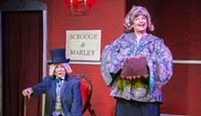 "Theater Review: Richmond Triangle Players' ""Scrooge in Rouge"" Offers a Madcap Holiday Romp"