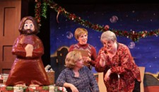 "Theater Review: ""Charitable Sisterhood Christmas Spectacular"" Stages an Uneven Return to the Basement Pageant"