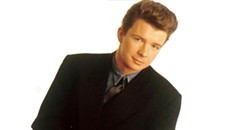 Rick Astley is Never Gonna Give It Up