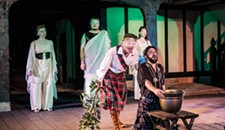 "Theater Review: Quill's Version of ""Macbeth"" is Largely Conventional"
