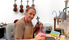 Interview: Adam Birce, 34, Owner of Four Strings Instrument Shop in Manchester