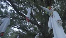 Video: Activist Group Hangs KKK Clowns in Bryan Park