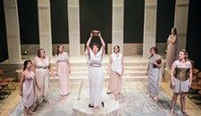 "Theater Review: Quill's ""Lysistrata"" Serves Up Sexual Innuendo and Mixed Messages"