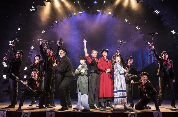 """Virginia Repertory's """"Mary Poppins"""" is Theatrical Magic at"""