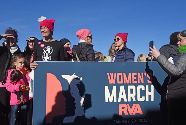 Women's March RVA   Slideshows   Style Weekly - Richmond, VA local
