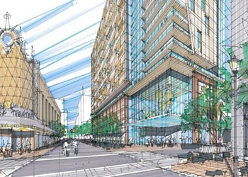 Plan Emerges for a Residential Tower on Grace Street