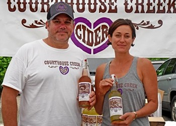 Community Support for Courthouse Creek Cider after a Major Fire